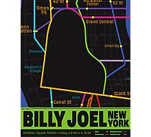 Billy Joel Poster Photographic Print