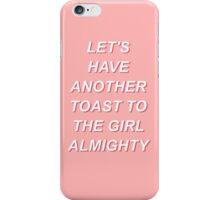 Girl Almighty Pop Art iPhone Case/Skin