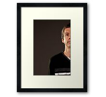 Portrait of a Puggs Framed Print