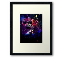 Aloha Hawaii & Fireworks. Framed Print