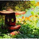 Red Pagoda by Tracy Riddell