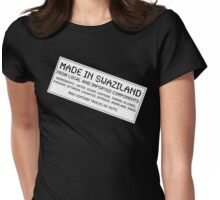 Traces Of Nuts - Swaziland Womens Fitted T-Shirt