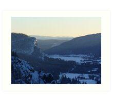 Mountains CO Art Print