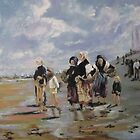 The Oyster Gatherers of Cancale by Jsimone