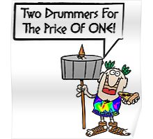 Two Drummers for the price of one! Poster
