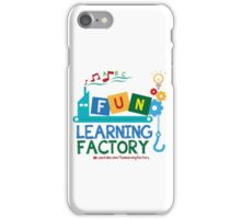 Fun Learning Factory Official Logo iPhone Case/Skin