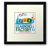 Fun Learning Factory Official Logo Framed Print