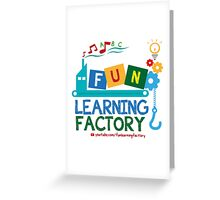 Fun Learning Factory Official Logo Greeting Card