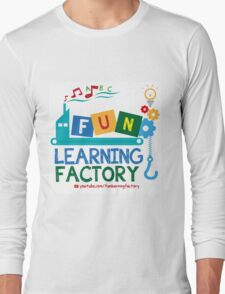 Fun Learning Factory Official Logo Long Sleeve T-Shirt