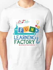 Fun Learning Factory Official Logo T-Shirt
