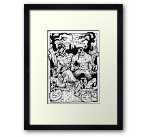 Misfits Comic-book Style Framed Print