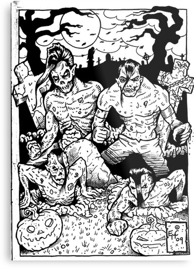 Misfits Comic-book Style by Psychoskin