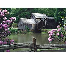 Mabry Mill - Spring Photographic Print