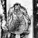 Leatherface Splatter by Psychoskin