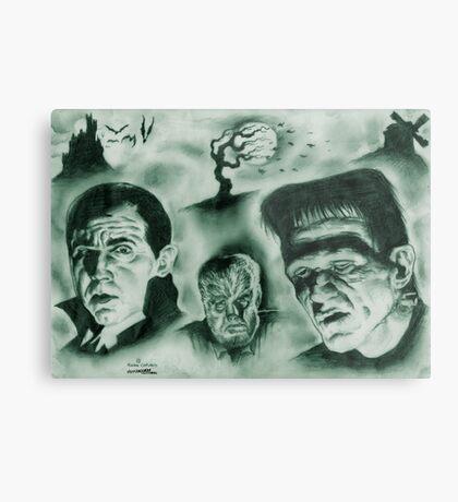 Famous Monsters Metal Print