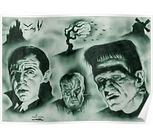 Famous Monsters Poster