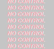 No Control One Direction Pink/Grey Design by auserie