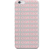 No Control One Direction Pink/Grey Design iPhone Case/Skin
