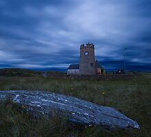 Holy Island - The Snoot Tower by Nigel Bangert