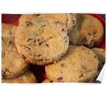 Dalmatian Cookies Poster