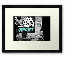 Smarty Framed Print