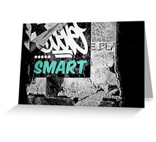 Smarty Greeting Card