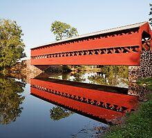 Sachs Covered Bridge by Tim Devine