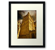 Exeter Cathedral Framed Print