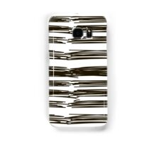 black brush strokes Samsung Galaxy Case/Skin