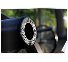Gettysburg Cannons Poster