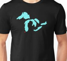 The Great Lakes-Chicago Unisex T-Shirt