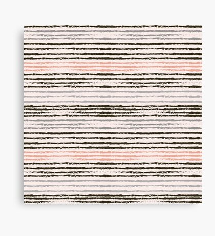 Horizontal brush strokes Canvas Print