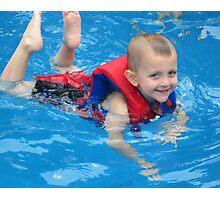 Swim, Caden, Swim Photographic Print