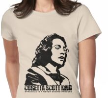 Coretta Scott King Womens Fitted T-Shirt