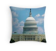 The Capitol - Day Throw Pillow