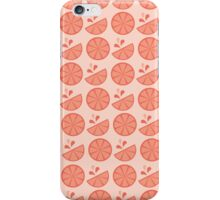 Cheerful Citrus in Pink Grapefruit iPhone Case/Skin