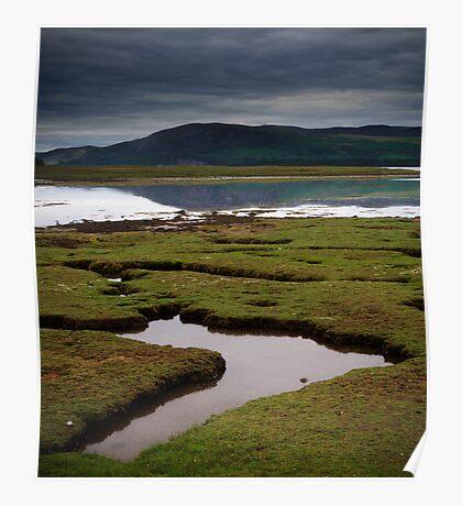 Loch Fleet, Scotland Poster