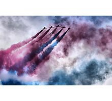 painting the sky RAF style Photographic Print