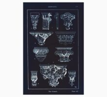 A Handbook Of Ornament With Three Hundred Plates Franz Sales Meyer 1896 0255 Supports Console Inverted One Piece - Short Sleeve