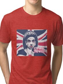 GOD SAVE THE QUEEN Tri-blend T-Shirt
