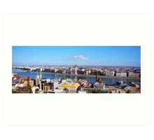 Parliment on The Danube Art Print