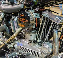 1966 Harley Sportster by Bill Spengler