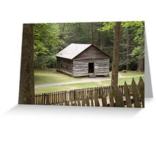Little Greenbrier School  Greeting Card
