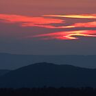 Mountain Sunset by Joe Elliott