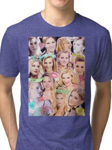 Heather Morris Collage Tri-blend T-Shirt