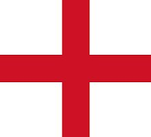 Flag of England (St. George's Cross) Authentic version to scale and color by Bruiserstang