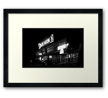 Honky Tonk Framed Print