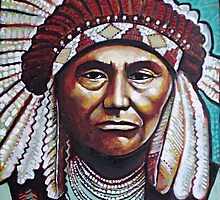 Chief joseph by SilasArt