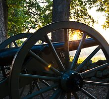 Sunrise & Cannons by ericseyes