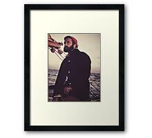 Philippe Cousteau, Sr. Framed Print